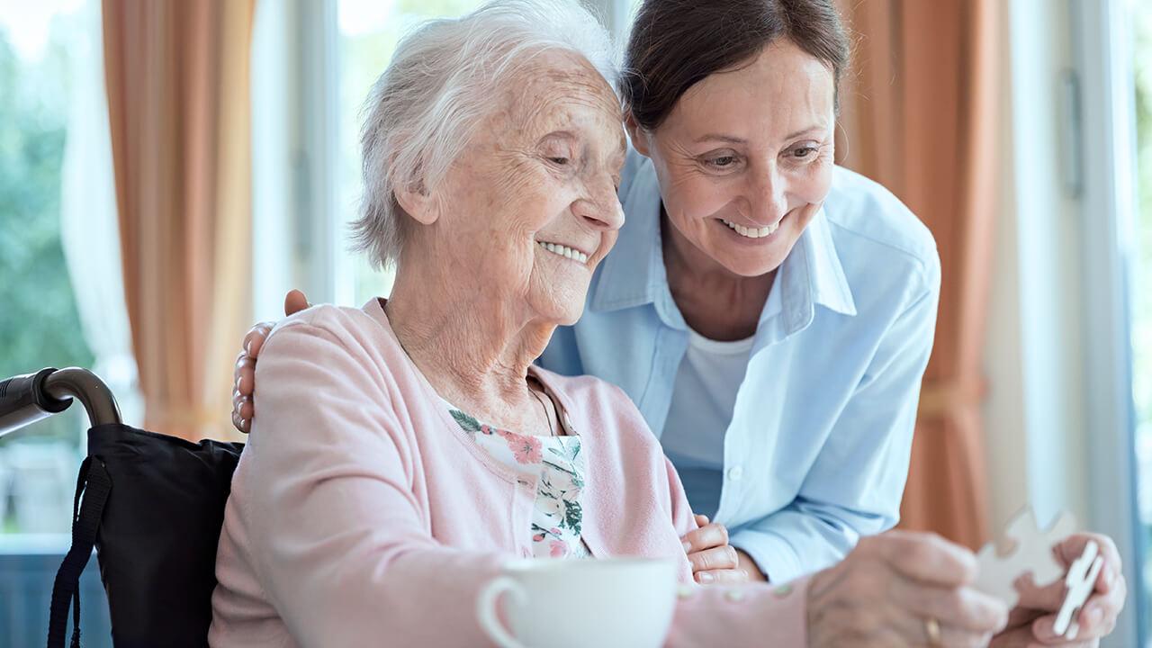 Liebevolle Pflege für Ihre Angehörigen